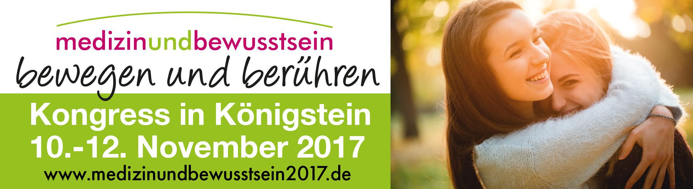 Banner Messe: Medizin und Bewusstsein 2017